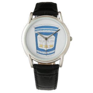 NYC Feinkostgeschäft glücklich, Ihnen griechische Uhr