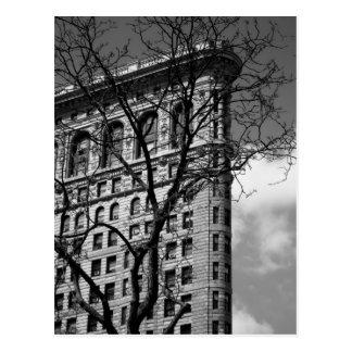 NYC flaches Eisen-Gebäude Postkarte