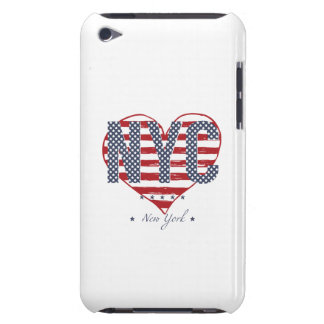 NYC Flagge-Herz iPod Touch Case