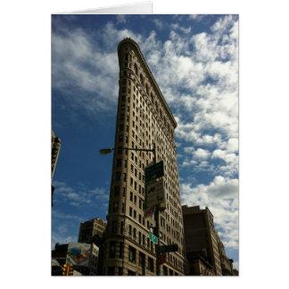 NYC Flatiron Gebäude Karte