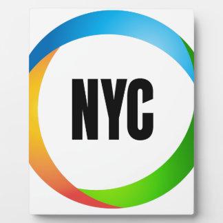 NYC FOTOPLATTE