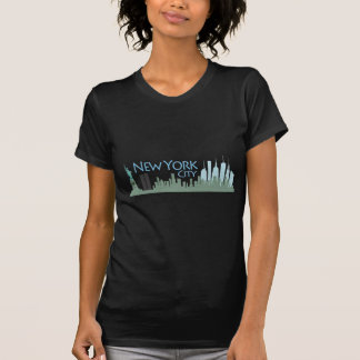NYC Freiheits-Skyline T-Shirt