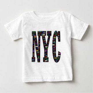 NYC Graffiti-Schriftartabnutzung Baby T-shirt