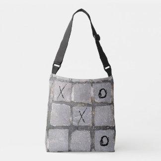 NYC Kopfstein-Tasche mit Tic Tac Zehe-Brett Tragetaschen Mit Langen Trägern