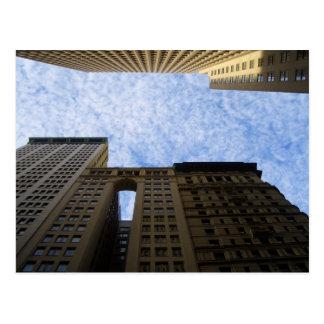 NYC lebende Schlucht-Fotopostkarte durch CricketDi Postkarte