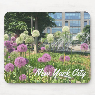 NYC New York City Columbus Kreis-Lauch-Brunnen Mousepad