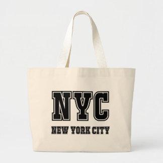 NYC New York City Jumbo Stoffbeutel