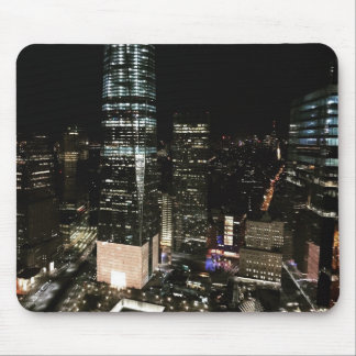 NYC New York City NachtSkyline-Architektur-Licht Mousepad