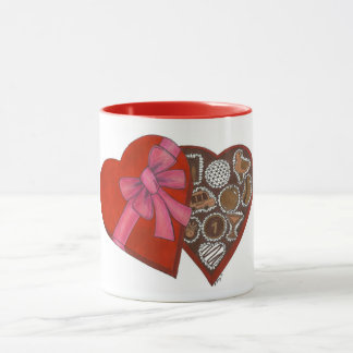 NYC New York City Valentine-Kasten der Tasse