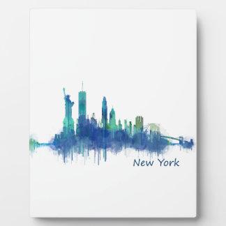 NYC New York Skyline v5 Fotoplatte