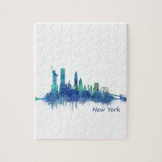 NYC New York Skyline v5 Puzzle