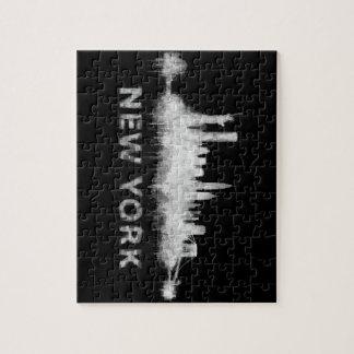 NYC New York whit Skyline cityscape v01 Puzzle