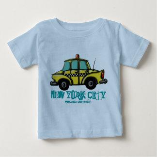 NYC Schachbrettfahrerhaus-Baby-T - Shirt