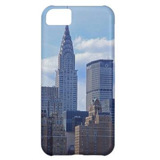 NYC Skyline-Chrysler-Gebäude traf Leben-Gebäude B1 iPhone 5C Hüllen