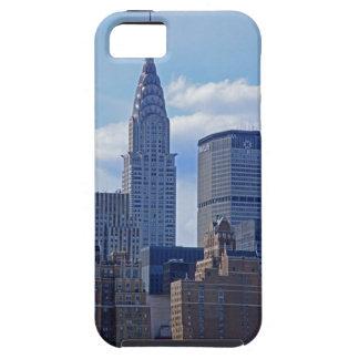NYC Skyline-Chrysler-Gebäude traf Leben-Gebäude B1 iPhone 5 Case