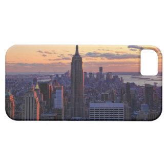 NYC Skyline kurz vor Sonnenuntergang Etui Fürs iPhone 5