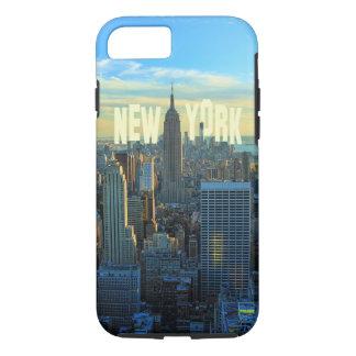 NYC Skyline-Reich-Staats-Gebäude, Welthandel 2C iPhone 8/7 Hülle