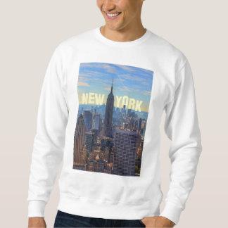 NYC Skyline-Reich-Staats-Gebäude, Welthandel 2C Sweatshirt