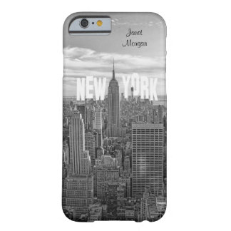 NYC Skyline-Reich-Staats-Gebäude, Wld Trd BW 2C2 Barely There iPhone 6 Hülle