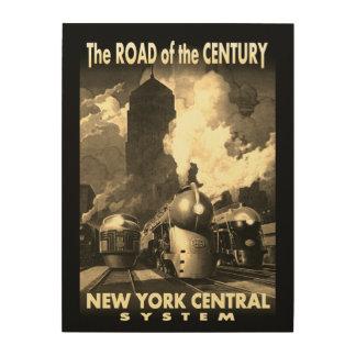 NYC Straße des Jahrhunderts Holzwanddeko