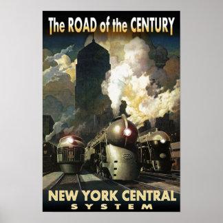 NYC Straße des Jahrhunderts Poster