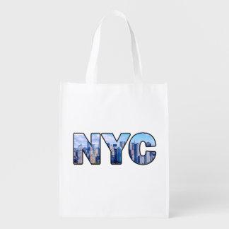 NYC WIEDERVERWENDBARE EINKAUFSTASCHE