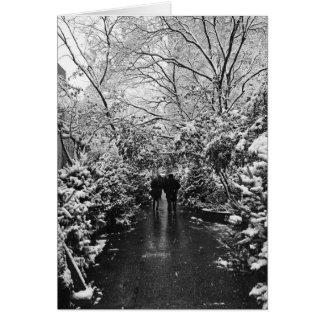 NYC Winter-Märchenland Karte