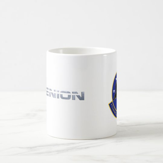 Nydenion Logo & Wolfpack Sq A Kaffeetasse