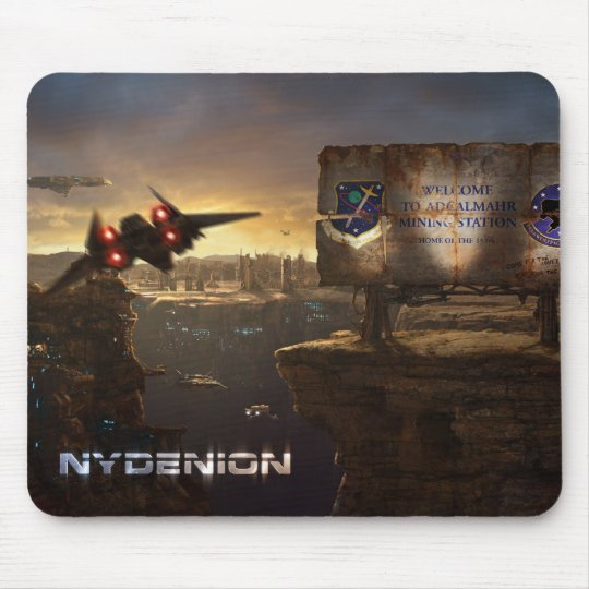 Nydenion Mouse Pad Adcalmahr Sign Mauspads