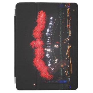 NYE Feuerwerke über Hafen-Brücke iPad Air Hülle