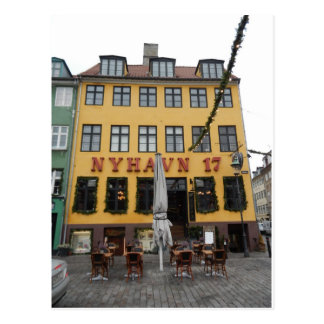 Nyhaven 17 Restaurant Kopenhagen Dänemark Postkarte