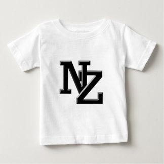 NZ beschriftet Neuseeland Baby T-shirt
