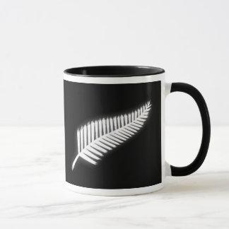 NZ silberner Farn-nationales Emblem-patriotisches Tasse