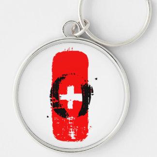 O+ Blutgruppe Keychain Schlüsselanhänger
