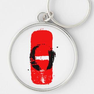 O- Blutgruppe Keychain Schlüsselanhänger