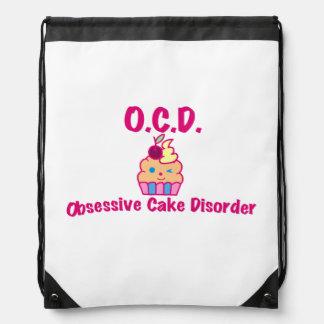 O.C.D. - Besessene Kuchen-Störung Sportbeutel
