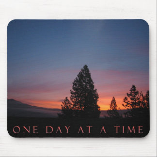O.D.A.T. Ein Tagesauf einmal Sonnenaufgang Mousepad