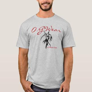 O.G Abnutzungs-glatter Betreiber graue T T-Shirt
