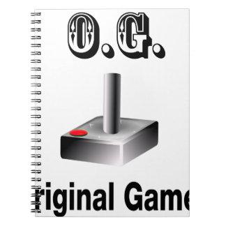 O.G. Ursprünglicher Gamer Spiral Notizblock