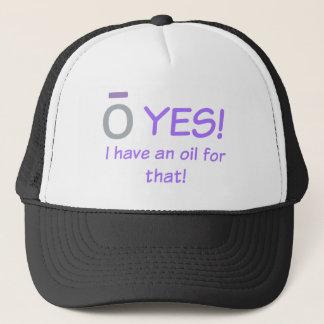 O JA! Ich habe einen Ölfernlastfahrerhut Truckerkappe