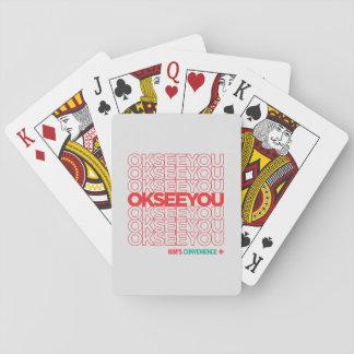 O.K. SEHEN SIE - Matthew Fleming Spielkarten
