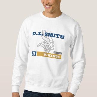 O.L. Smith-Wikinger-Erwachsen-Sweatshirt Sweatshirt