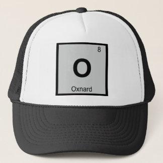 O - Oxnard Kalifornien Chemie-Periodensystem Truckerkappe