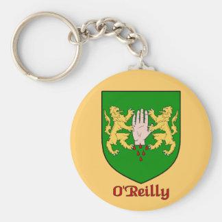 O Reilly-Familien-Schild Keychain Schlüsselbänder