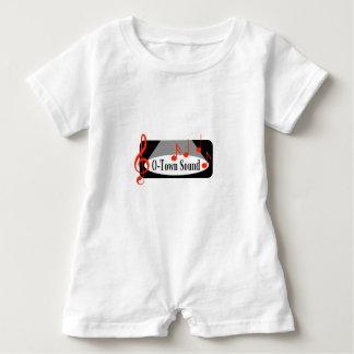 O-Stadtsolide Baby-Einzelteile Baby Strampler