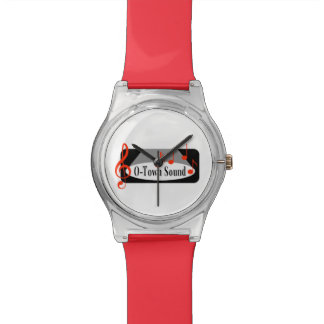 O-Stadtton-Uhr Armbanduhr