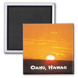 Oahu, Hawaii Kühlschrankmagnet
