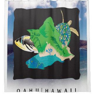 Oahu-Insel Hawaii Duschvorhang