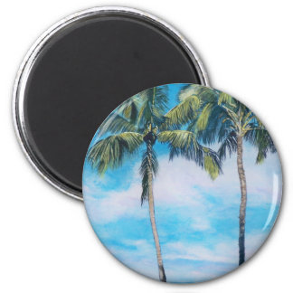 Oahu Runder Magnet 5,7 Cm