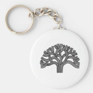 Oakland-Baum Schlüsselanhänger